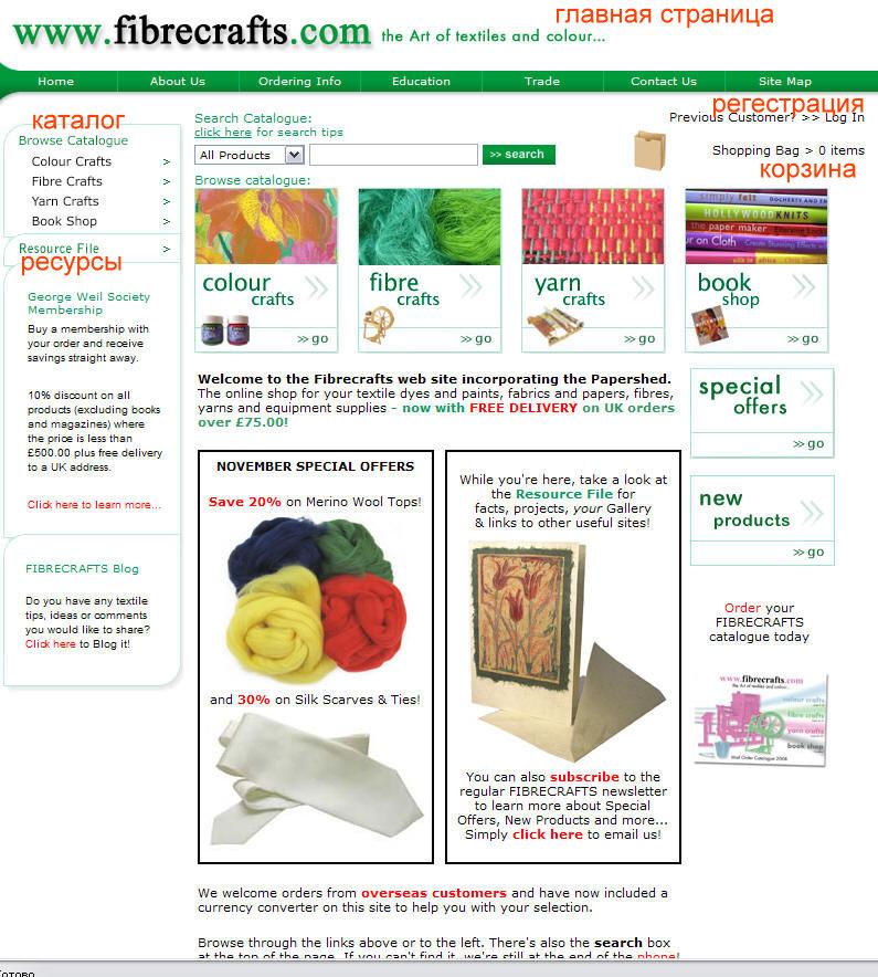 Мастер-класс по покупке материалов в интернет магазине.